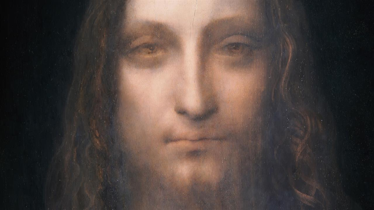 Salvator Mundi Leonardo Da Vinci >> Long-lost Leonardo Da Vinci painting sold for $450 Million